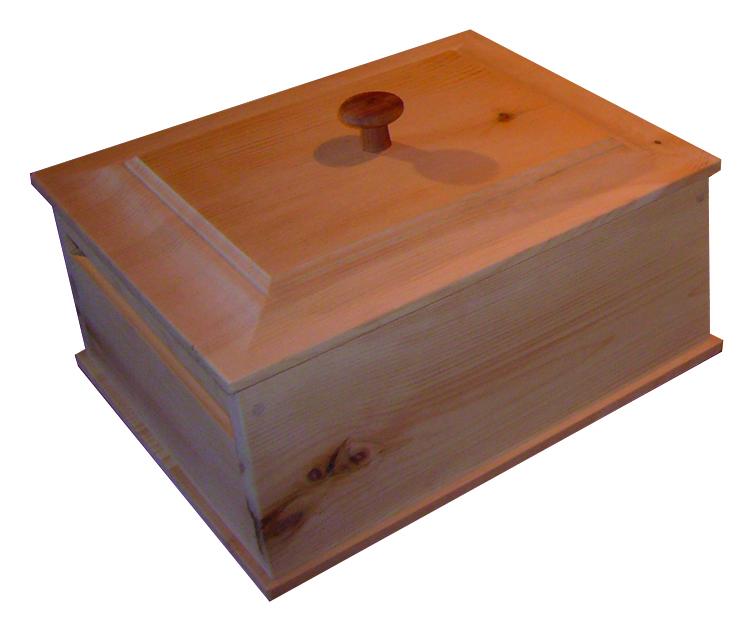 Brotkistl aus Zirbenholz