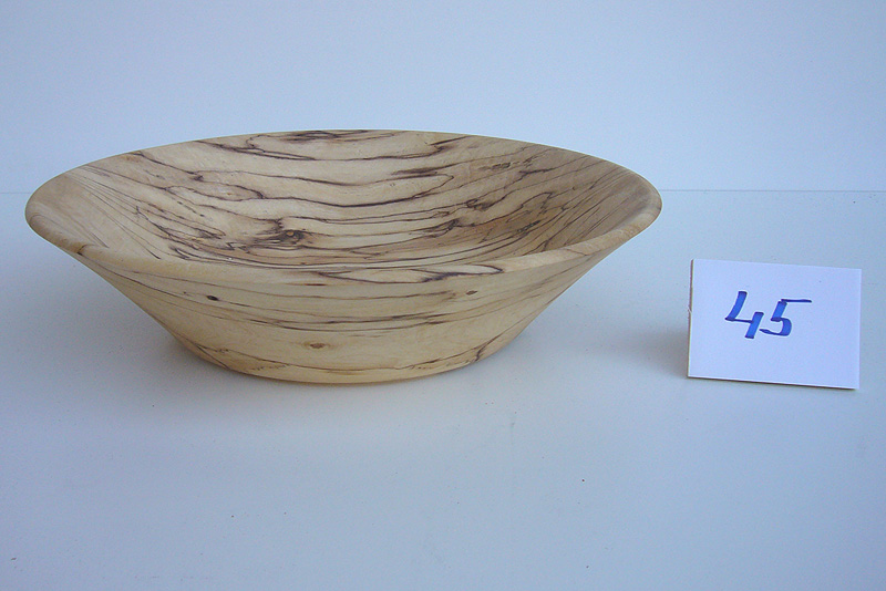 Schüssel   Holzsorte: Zwetschge-b