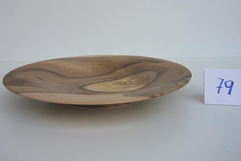Flache Schale | Holzsorte: Nußbaum