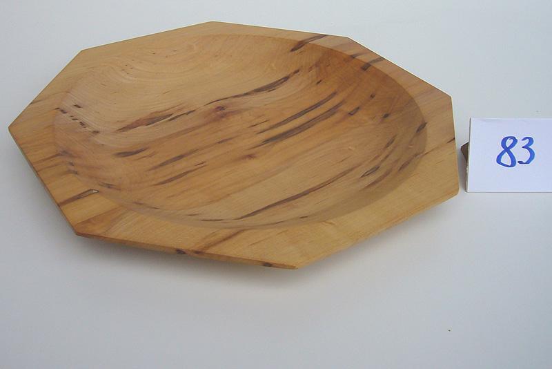 8-eckige Schale | Holzsorte: Riegelesche