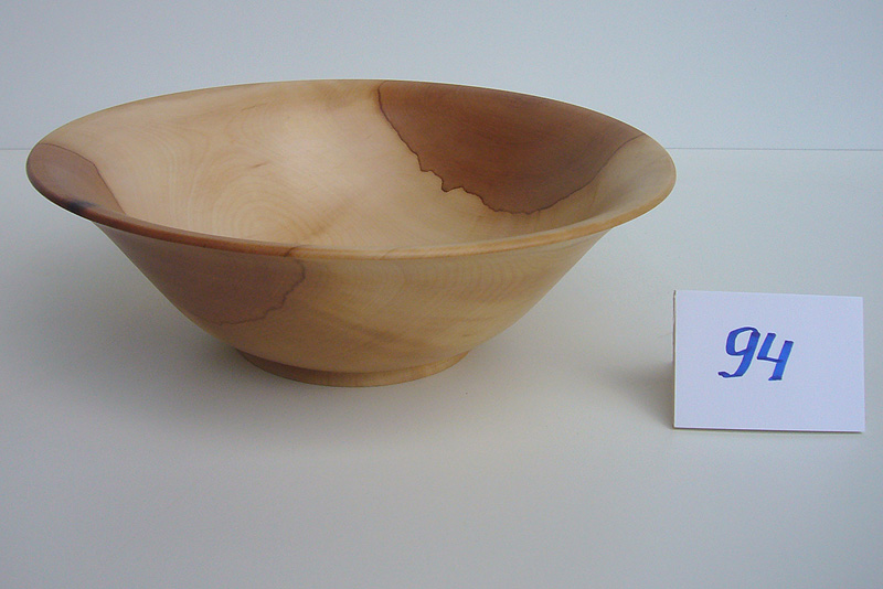 Schale | Holzsorte: Elsbeere