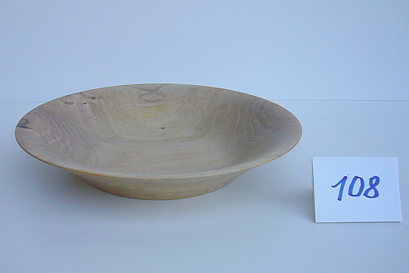 Schale | Holzsorte: Nußbaum-Splint