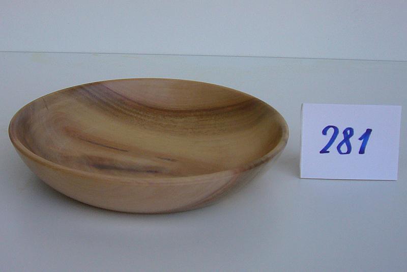 Schale   Holzsorte: Nußbaum